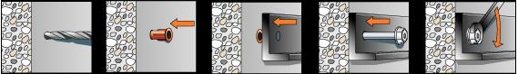 Порядок монтажа elementa EFA-SH