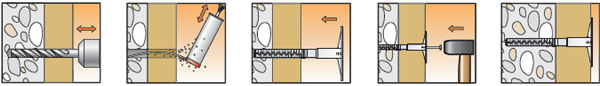 Порядок монтажа elementa EIP-M