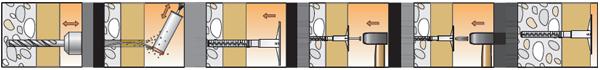 Порядок монтажа elementa EIP-TS