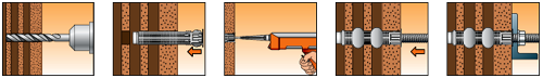 Порядок монтажа elementa EPF 410С